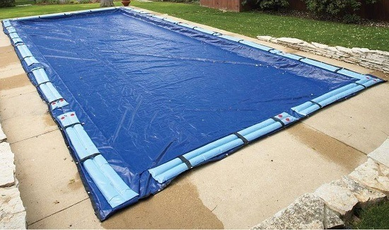 Safety Cover On Pool
